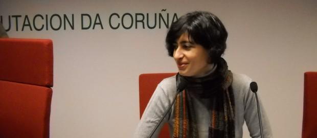 María Reimóndez é tradutora e intérprete de profesión